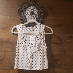 Polca dot blouse